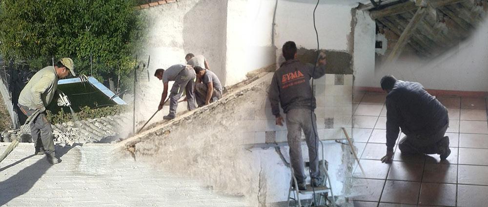 Eyma reformas e interiorismo en granada construcci n for Renovacion de casas viejas